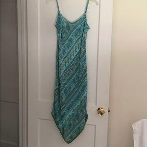 Extremely rare vintage gap paisley silk dress